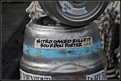 Tapped Out (Mark Faviell Photos) Tags: beer june port brewing bullet nitro bourbon porter keg townsend oaked