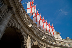 Come on England (Richard Bradshaw1) Tags: london admiraltyarch ensigns comeonengland worldcup2010