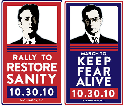 Rally to Restore Sanity March For Fear