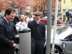 It's a Great Day for EVs (DDOTDC) Tags: station center ev charging reeves coulomb fenty levelii chargepoint gabeklein