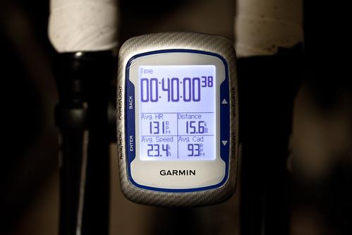 リハビリ開始 40min ave23.4 15.6km