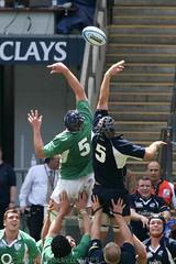 No 5 Symmetry (cazphoto.co.uk) Tags: rugby twickenham rogerwilson andrewhall canonef100400mmf4556lisusm canoneos30d irelanda andrewfarley scotlanda scottlawson churchillcupfinals markrennie