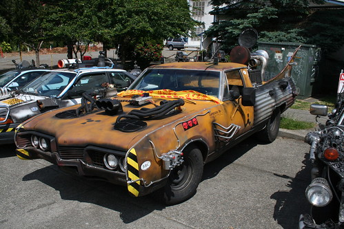 Godspeed 818 Art Car by Phil Teller - Seattle, WA
