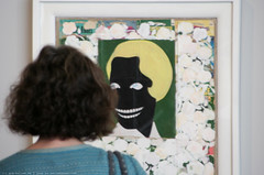 documenta 12 | Kerry james Marshall / Dark Angel | 1989 | Aue-pavillon