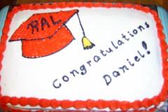Janae's Graduation Cake