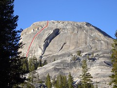 Route (eternal.return) Tags: climbing yosemite tuolumnemeadows