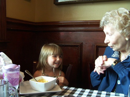 lunch with grandma