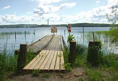 Jungfrusund ~ dock (Per Ola Wiberg ~ powi) Tags: summer water june juni dock sweden deck excellent sverige soe 2007 sommar brygga mlaren naturesfinest eker mywinners todaysbestaward jungfrusund