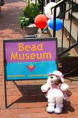 Jo at the Bead Museum