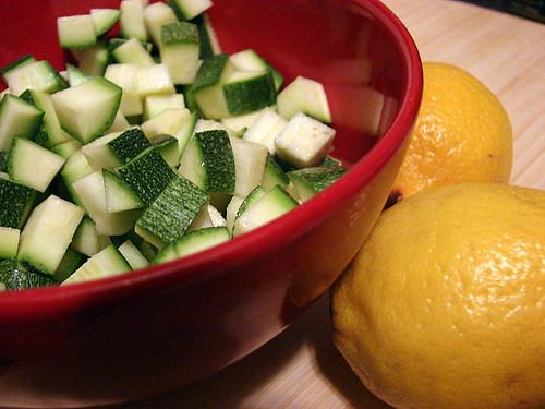 zucchini and lemons