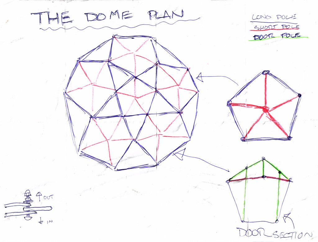 Dome Plan Drawing