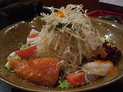 Daikon Salad with Sashimi - Horoki