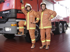Los nuevos bomberos !!! que tal !!!
