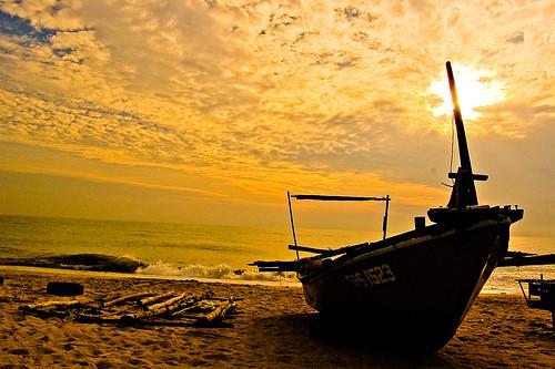 海(マレーシア)│風景│無料写真素材