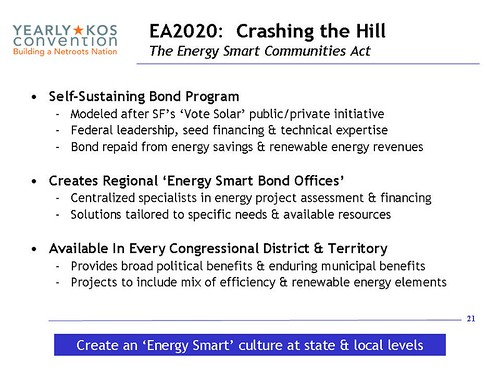 Slide:  Energy Smart Communities Act