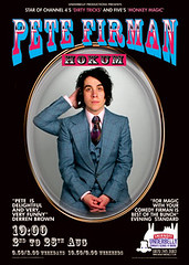 Pete Firman's Hokum billboard poster for the Edinburgh Festival Fringe 2007