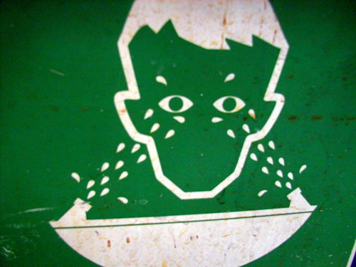 boys don't cry -- sign green peril stickfigure wash eyes boy don cry boys