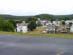 Birds Eye View (Coal Cracker of Tremont PA) Tags: old mountain mountains history church skyline rural buildings town mainstreet pennsylvania country valley coal appalachia tremont conception schuylkill immaculate schuylkillcounty northeastpa anthracite coalcountry tremontpa tremontpennsylvania
