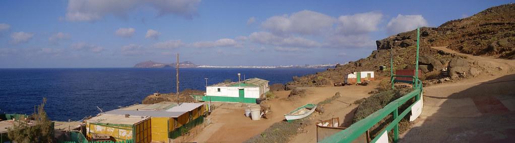 Las Palmas de Gran Canaria desde la Punta de Arucas