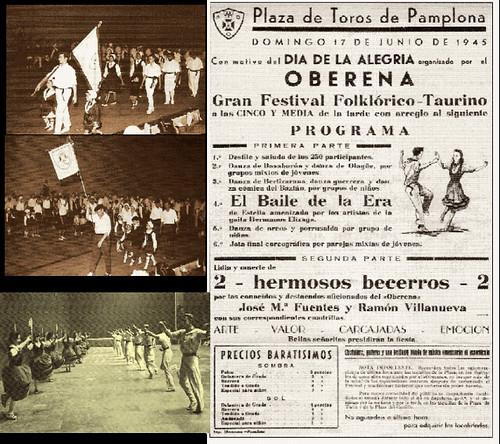 oberena dantza taldea historia