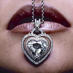 Robert Pelliccia Diamond Heart Pendant