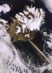 ESA image of Eyjafjallajökull