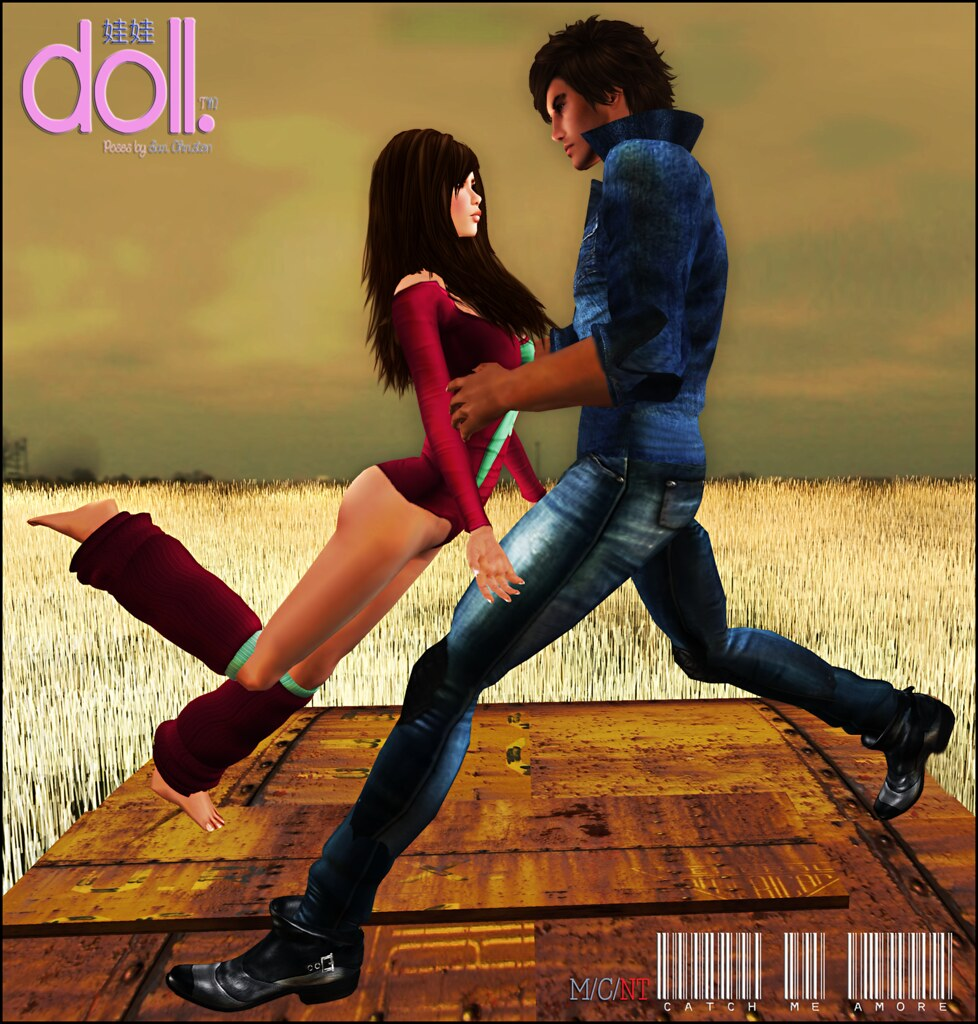 [doll.]™ Catch Me, Amore Couple Pose