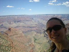 Clare At South Rim, Bright Angel Trail