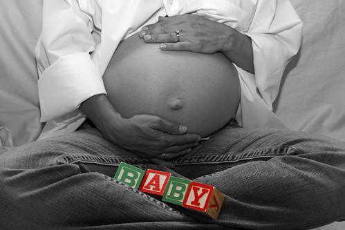 Tasha's Tummy with Baby Blocks