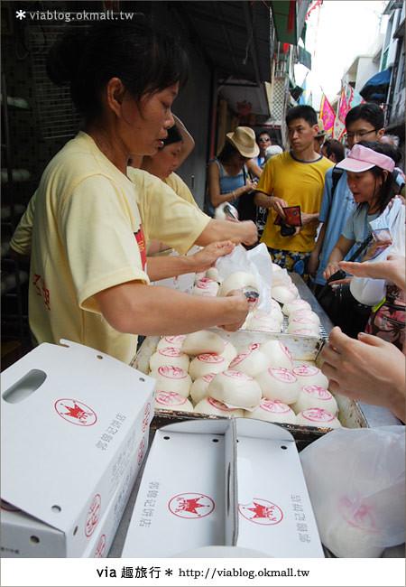 【2010香港節慶年 】香港節慶盛事~長洲太平清醮包山節(上)31