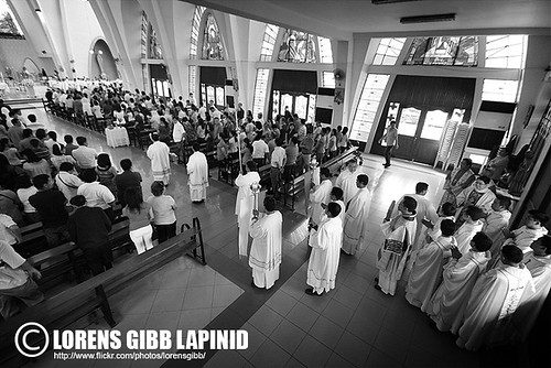 Scenes from Rev. Fr. Jan Thomas Limchua's Cantamisa