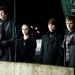 Eclipse still; Felix, Jane, Alec and Demetri