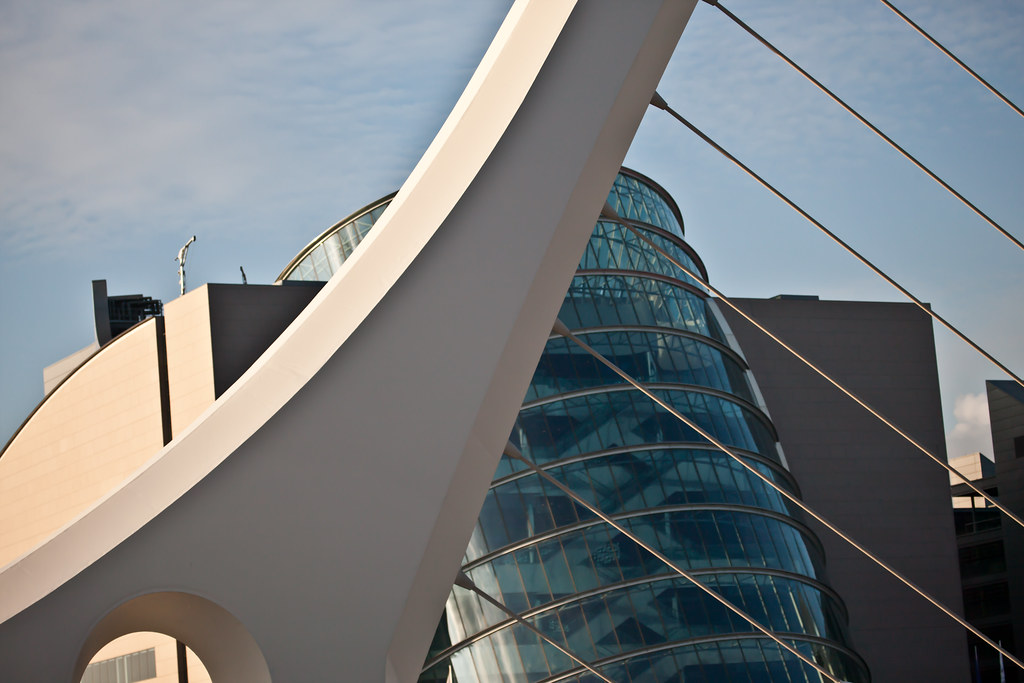 Samuel Beckett Bridge [ Open / Close Cycle]