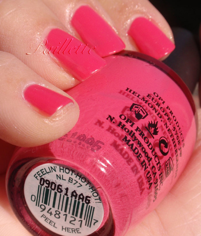Paillette: a little nail polish journal: A Trio of Hot Pink