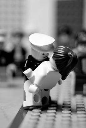 Classic Photographs done LEGO Style