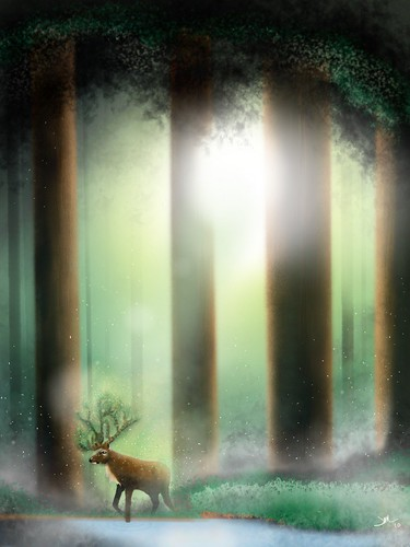 princess mononoke forest spirit. The Forest Spirit (or Deer God
