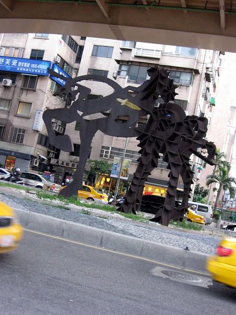 巨大オブジェ, 台北市内