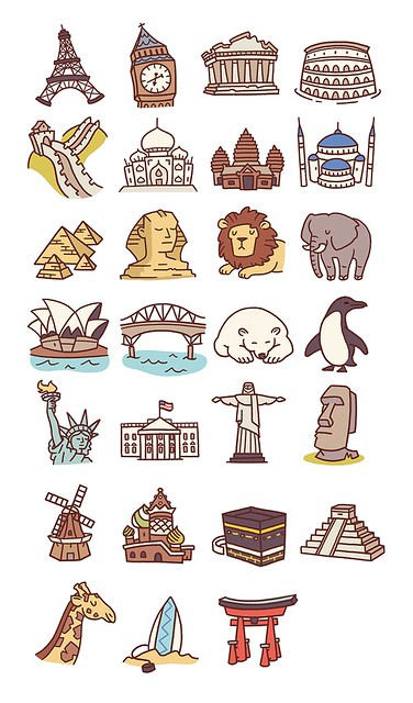Travel Icons Pt.2