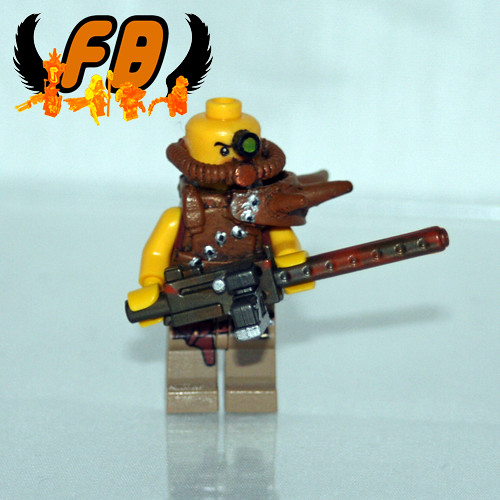 CREATIONS FOR CHARITY - POST-APOC HEAVY GUNNER