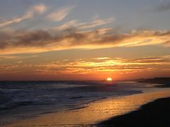 Sunset november (Darren-) Tags: ocean sunset sea usa sun ny newyork seascape beach landscape fun nikon surf waves dunes dune longisland atlantic westhamptonbeach weathampton