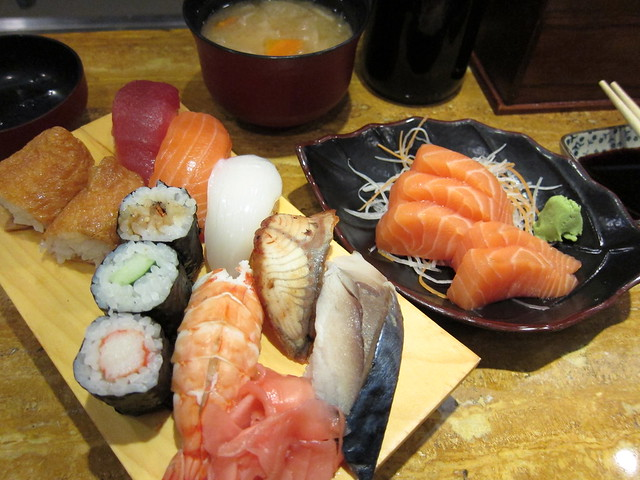 Sushi & Salmon Set Lunch