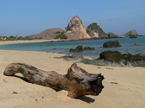 Wonderful Kuta Beach Lombok, Indonesia