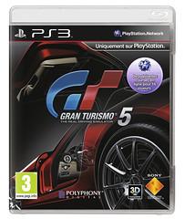 Gran Turismo 5 3D PS3 Packshot 0711719189756