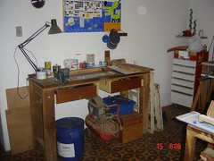 Oficina (mdonatijr) Tags: wood shop brasil studio sopaulo artesanato oficina tools madeira workbench estdio ferramentas bancada dscp93a iracempolis