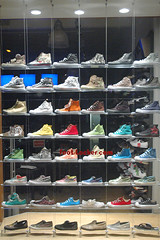 The Gates to Heaven (Cee-Lo Knows) Tags: window shop shoes sneakers retro collection converse chucks multicolor chucktaylor