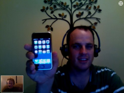 A new, happy iPhone user!