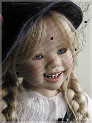 Lillemore Himstedt (MiriamBJDolls) Tags: hat doll vinyl limitededition 2007 annettehimstedt clubdoll lillemore himstedtkinder