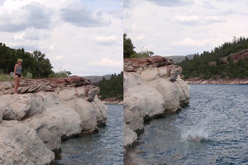 My cliff dive