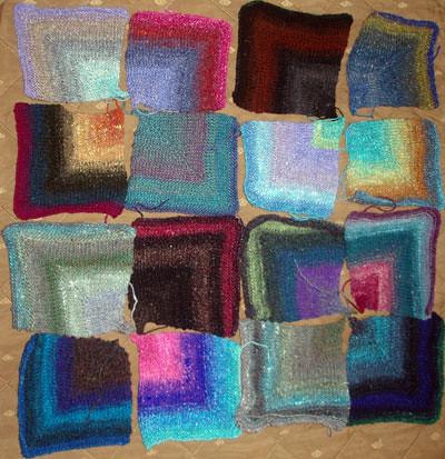 mitered squares