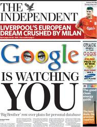 Google is watching you!